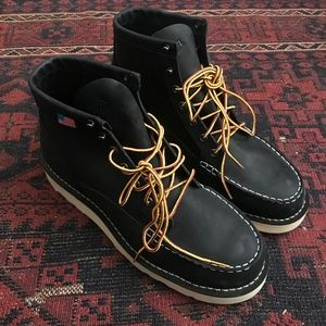 "Danner 6"" Bull Run Boots Steel Toe Sz 10"